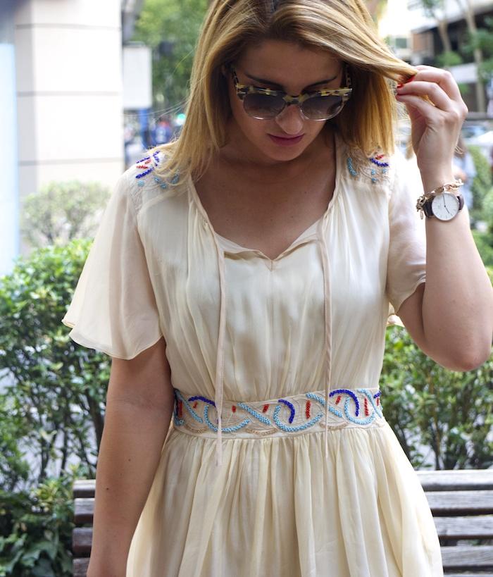 vestido bdba gucci sunnies Miu Miu bag Amaras la moda paula fraile 3