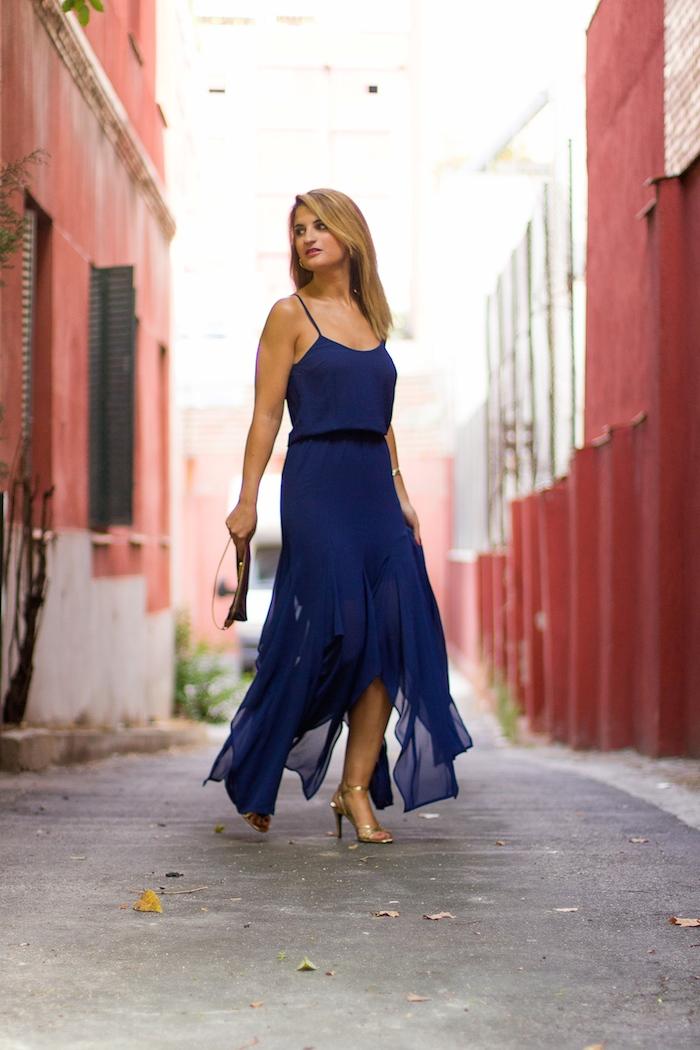 michael kors dress louis vuitton bag amaras la moda Paula Fraile 5