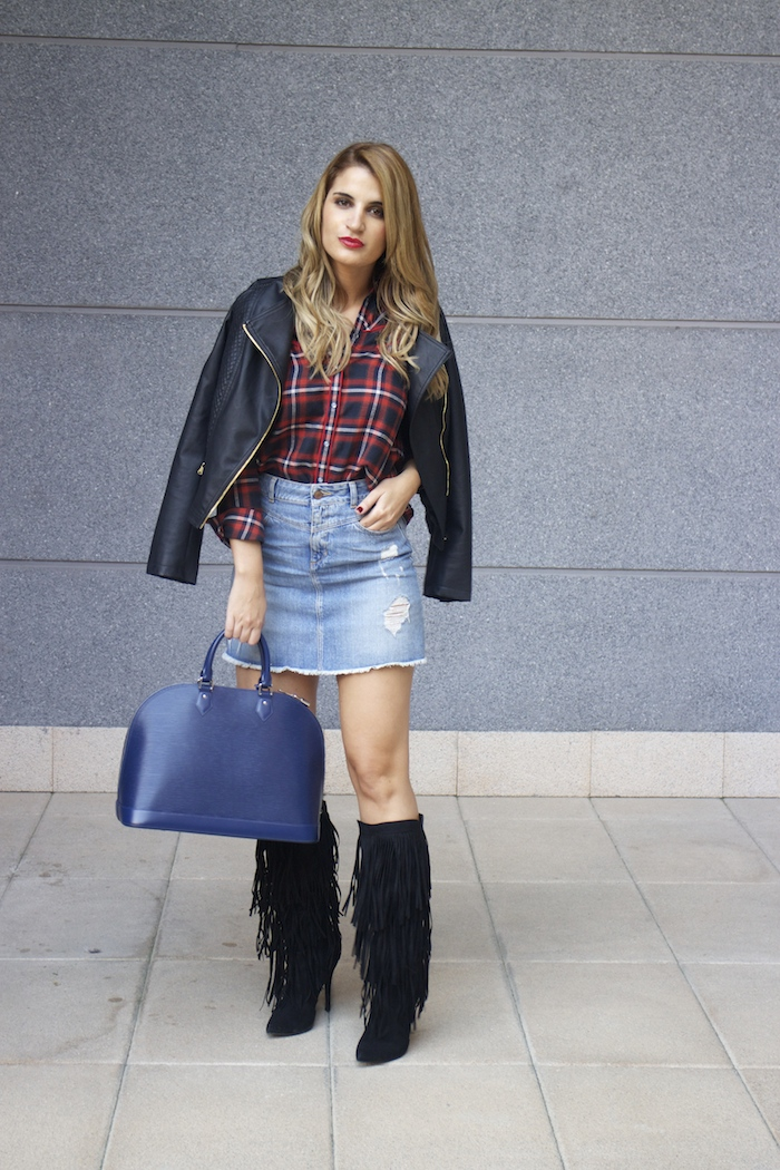 louis vuitton bag La Redoute shirt amaras la moda Paula Fraile 2