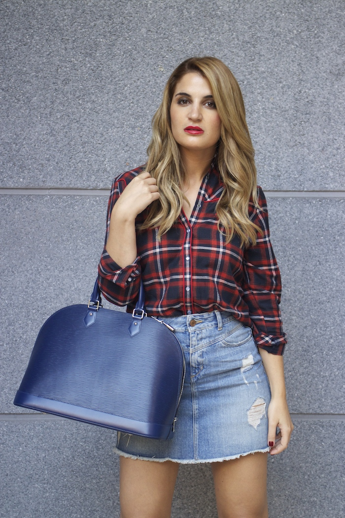 louis vuitton bag La Redoute shirt amaras la moda Paula Fraile
