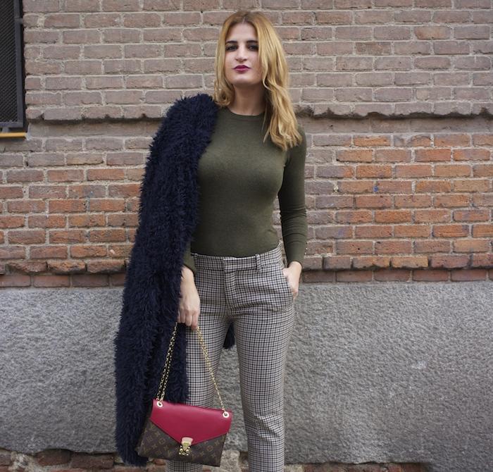 louis vuitton bag zara pants amaras la moda Paula Fraile2
