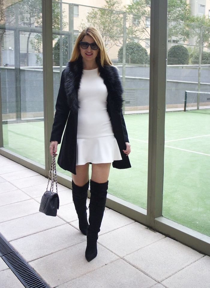 etxart and panno dress coat chanel bag Paula Fraile amaras la moda fashion blogger3