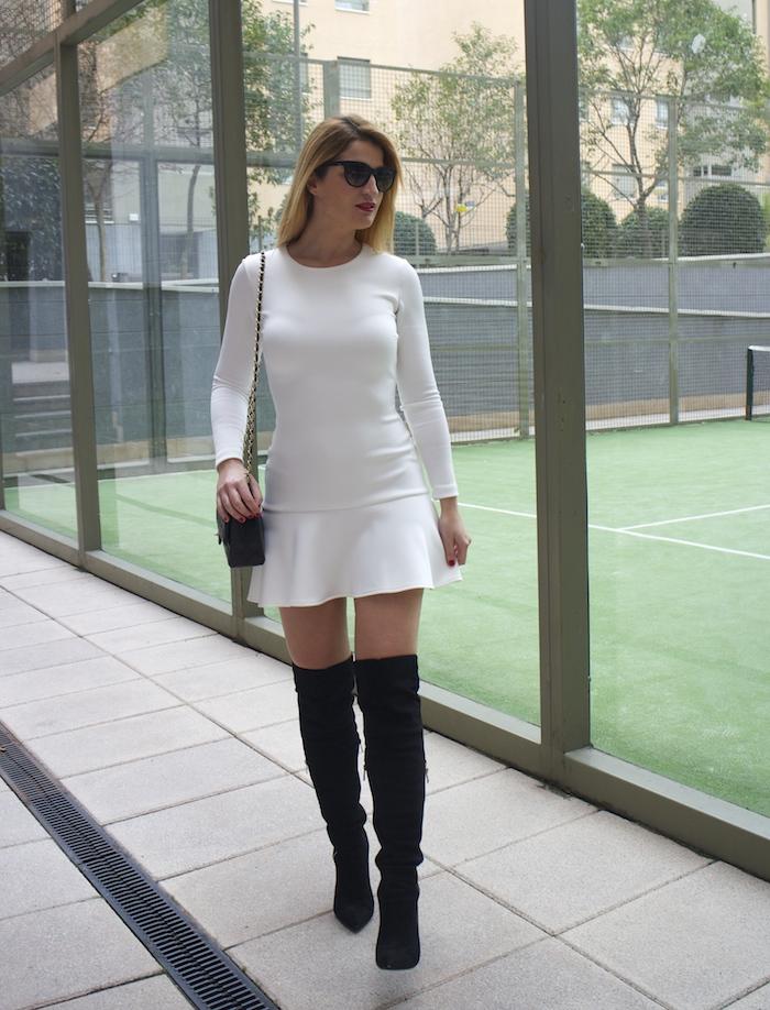 etxart and panno dress coat chanel bag Paula Fraile amaras la moda fashion blogger6