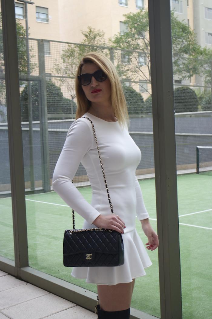 etxart and panno dress coat chanel bag Paula Fraile amaras la moda fashion blogger8
