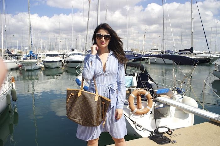 la redoute dress louis vuitton bag amaras la moda chloe borel shoes paula fraile.5