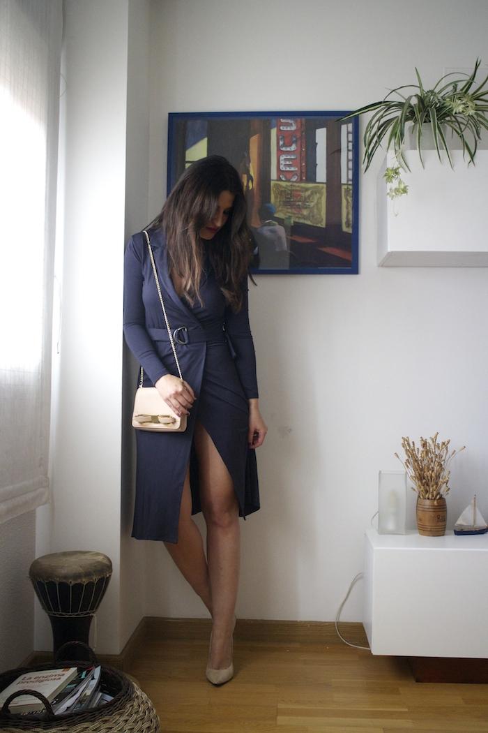 vestido La Redoute ted baker bag chloe borel stilettos amaras la moda paula fraile.2