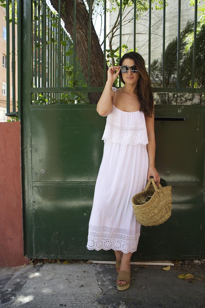 vestido ibicenco amaras la moda zuecos esparto paula fraile summer5