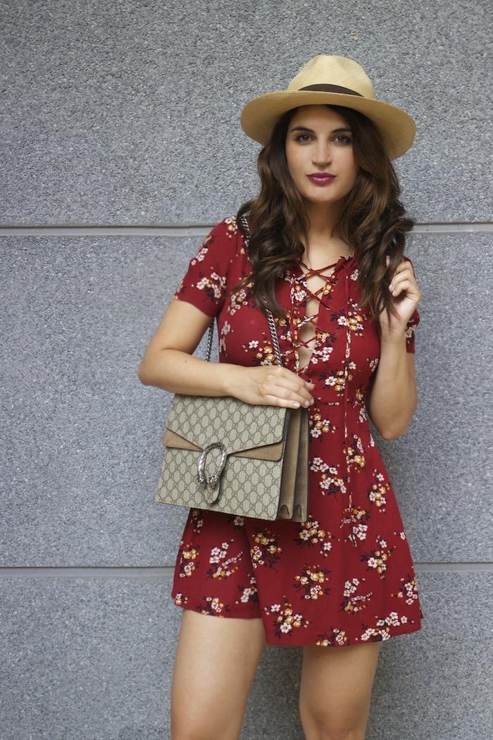 vestido forever 21 bolso gucci Dyonisus bag amaras la moda paula fraile 14