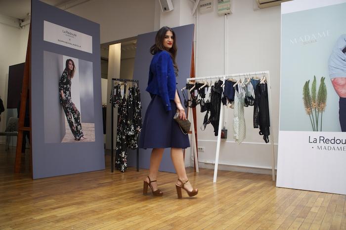 pressday La Redoute Paris Amaras la moda Paula Fraile.4