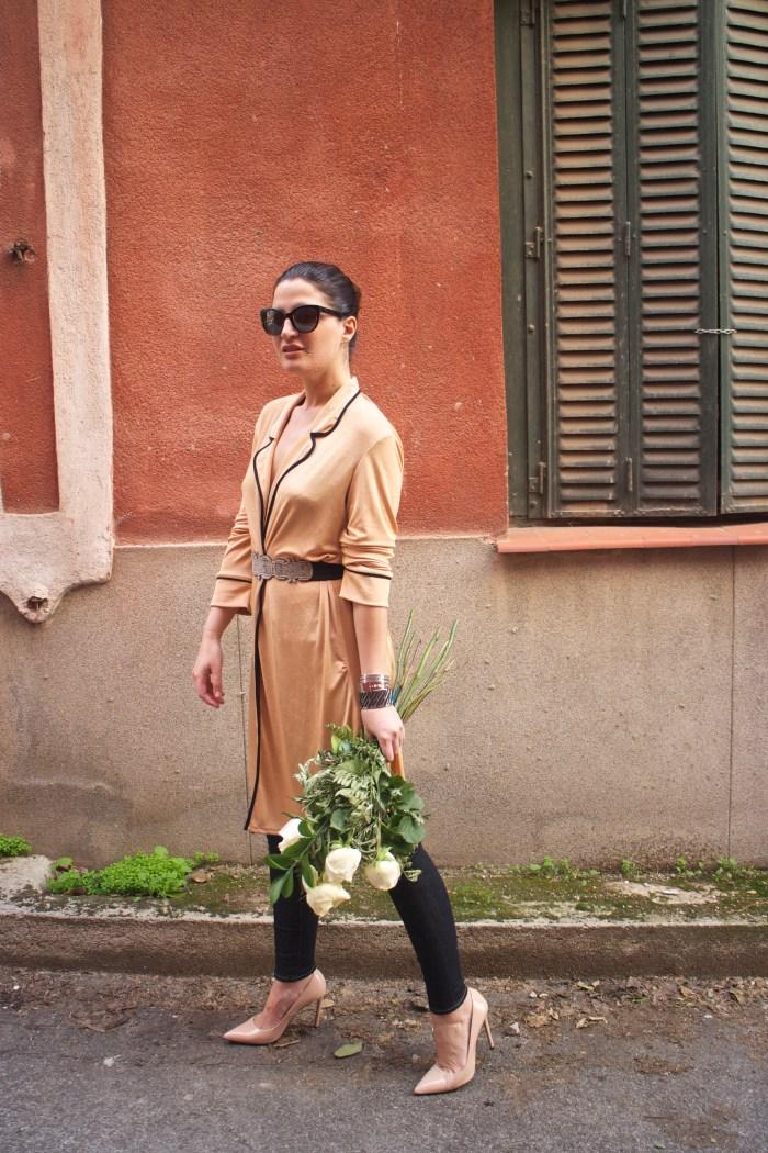 embajadora The Rubz pulseras bata Zara Paula Fraile amaras la moda flores2