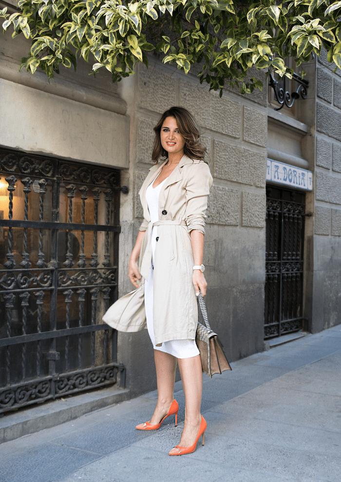 vestido Michael Kors bolso gucci trench La redoutte amaras la moda Paula Fraile8