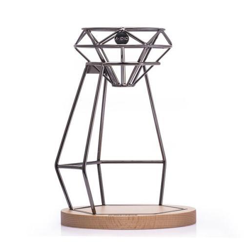 A-IDIO 鑽石手沖咖啡架組(濾杯+手沖架+底座)