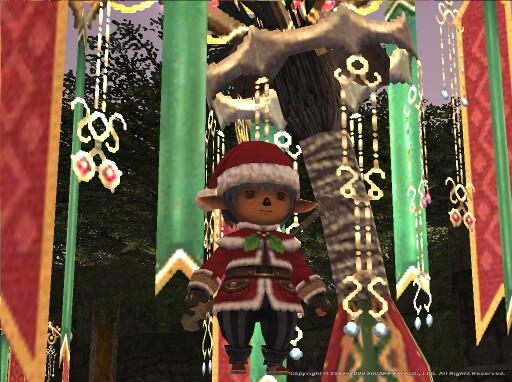 FFXI Merry Christmas