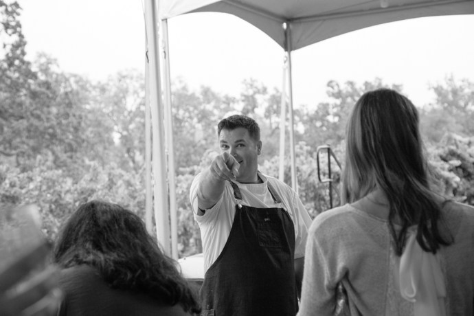 Paso Robles Harvest Wine Weekend Chef at Bacon Fest at Treana Photography by Amarie Design Co.
