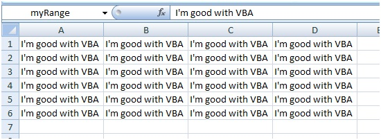 How to assign value to named range using Excel VBA range object
