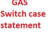 Google Apps script switch case statement_001