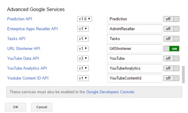 Advanced google services 3