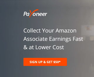 Amazon affiliate Payoneer Sign Up
