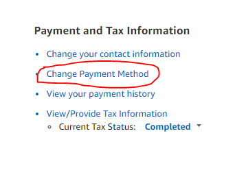 amazon affiliate payment and tax via payonner
