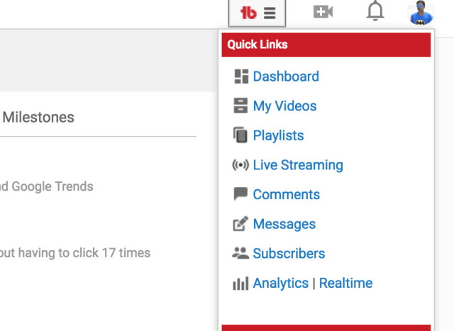 export youtube videos