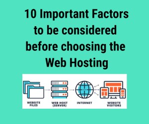 choose the best Web hosting services