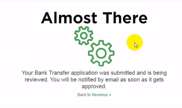 Fiverr Withdrawl application