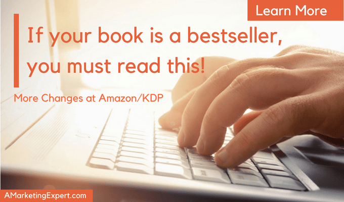 Bestseller Changes Amazon KDP