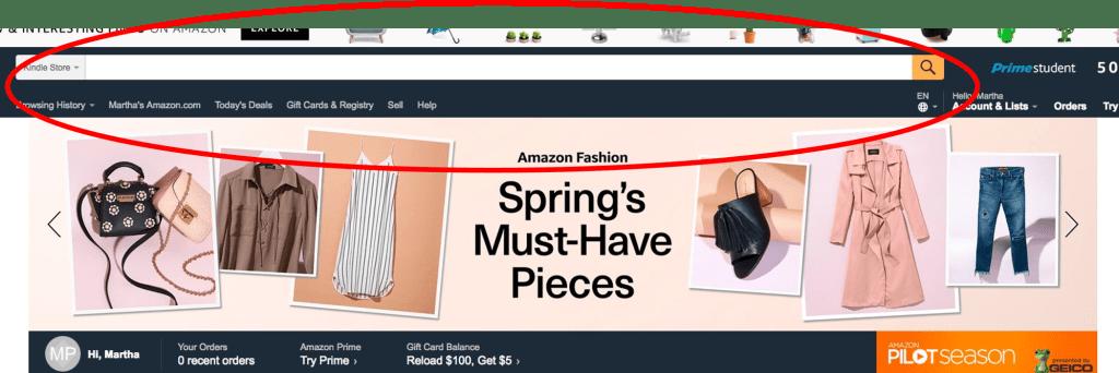 Amazon Main Screen Kindle eBooks   AMarketingExpert.com