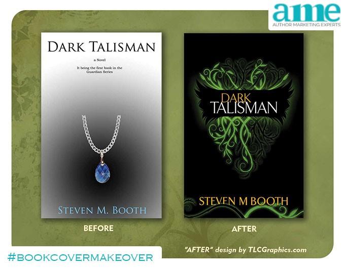 Dark Talisman #bookcovermakeover | AMarketingExpert.com