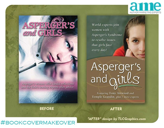 Aspergers and Girls #bookcovermakeover | AMarketingExpert.com