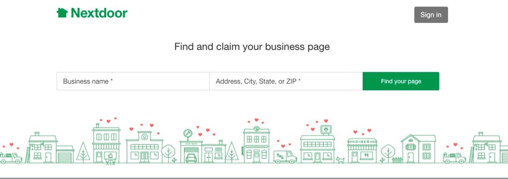 Nextdoor Business Page | AMarketingExpert.com