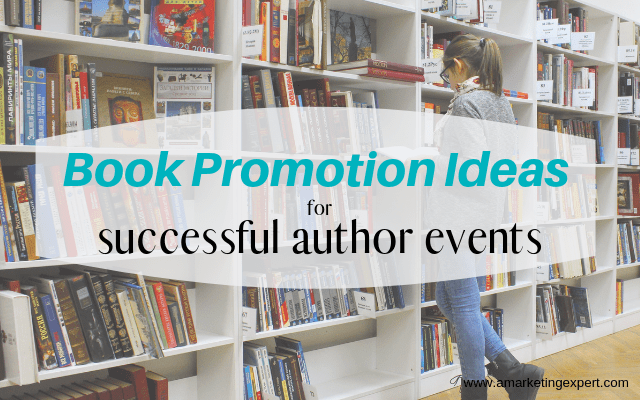 Book promotion ideas for author events