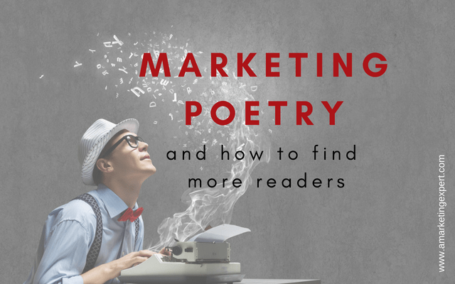Marketing Poetry and How to Find More Readers