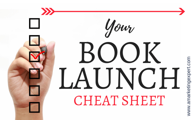 You Book Launch Cheat Sheet