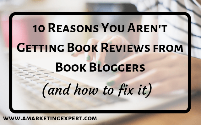 How to get reviews from book bloggers