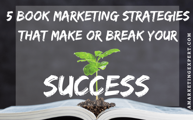 Book marketing strategies for promotion success.