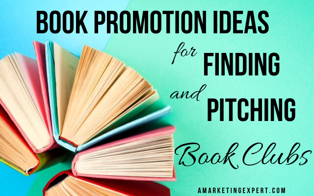 Book promotion ideas for reaching book clubs