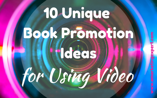 Book promotion ideas using video