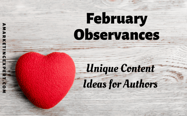 February book marketing