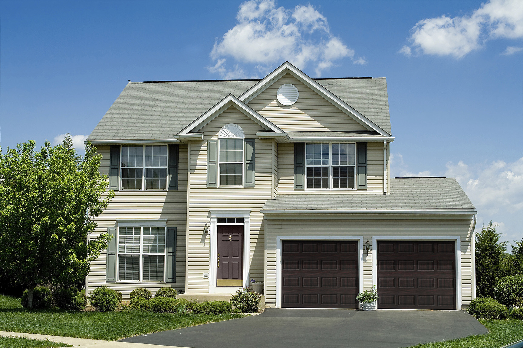 4 Reasons to Choose Dual Directional Woodgrain Colors for ... on Garage Door Colors Pictures  id=66610