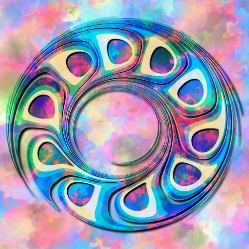 Digital painting based on Edru