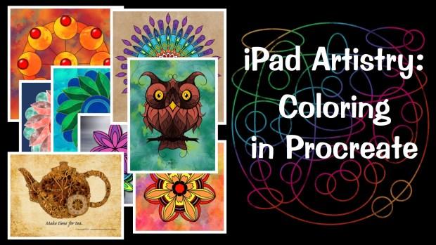 Coloring on iPad