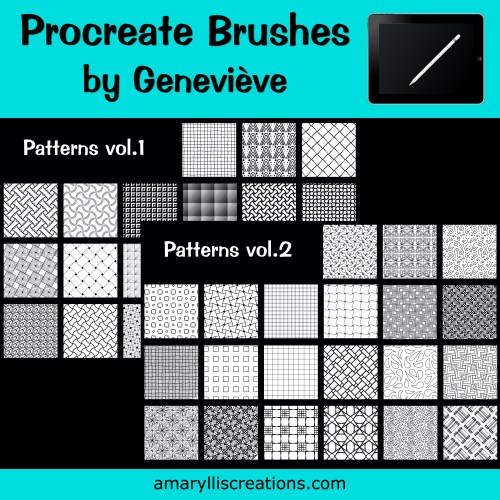 Free Procreate Pattern Brushes