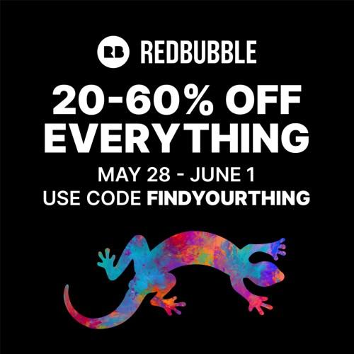 redbubble sale