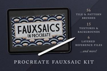 Fauxsaic Brushes