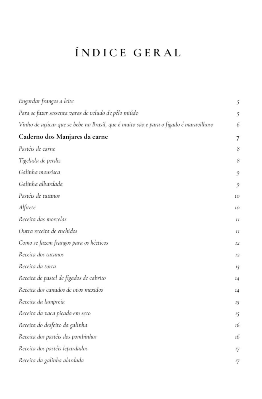 Manual de Cozinha Infanta D Maria