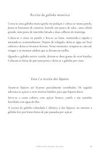Manual de Cozinha Infanta D. Maria