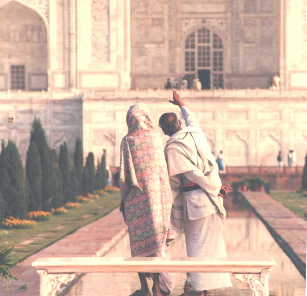 Indians love the Taj Mahal too !