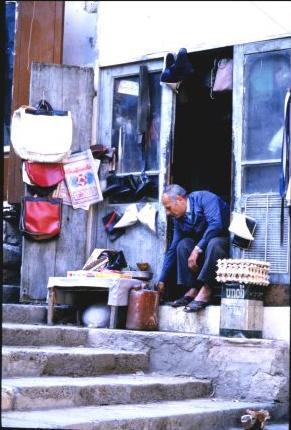 Shopkeeper near Ommayad mosque Damascus