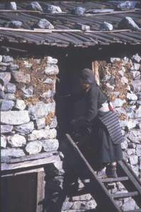 steps-up-to-sleeping-quarters-langtang-nepal
